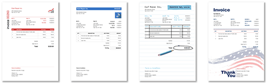 100 Professional Invoice Template Styles
