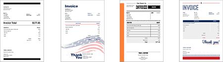 300 New Invoice Templates