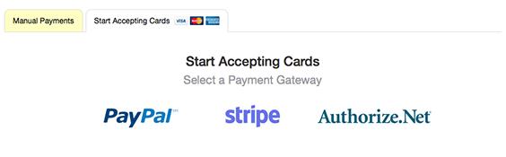 Select a Gateway